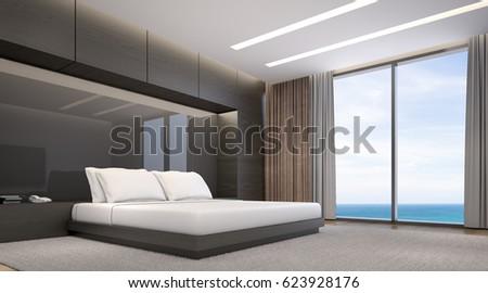 Royalty Free Stock Illustration Of Modern Master Bedroom Interior