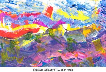 Modern natural landscape Abstraction