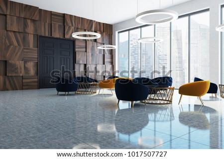 Modern Office Waiting Room Corner Large Stock Illustration Magnificent Office Waiting Room Design