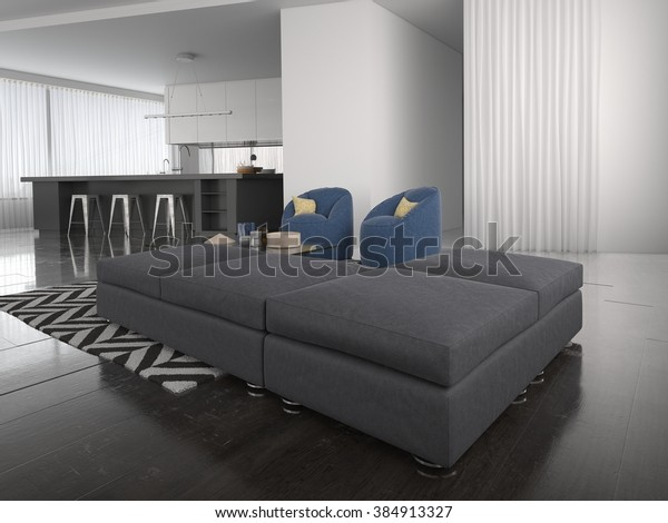 Surprising Modern Ottoman Style Lounge Suite Large Stock Illustration Ncnpc Chair Design For Home Ncnpcorg