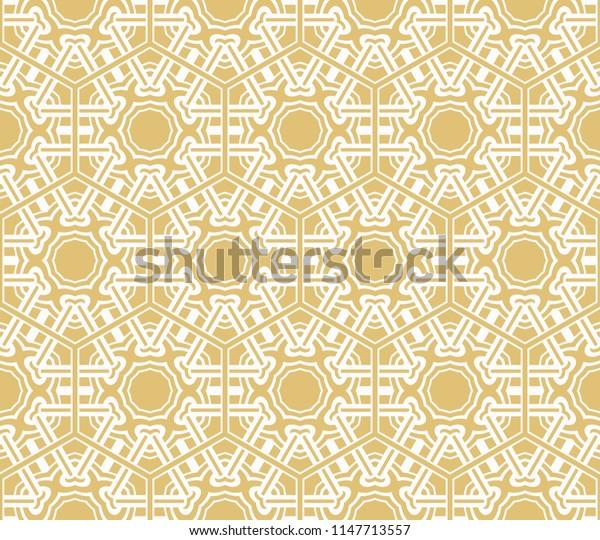 modern pattern of geometric ornament. Seamless   illustration. for interior design, wallpaper.
