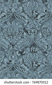 modern print pattern blue lovely