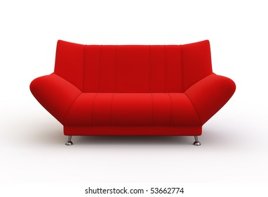 Red Couch Images, Stock Photos & Vectors | Shutterstock