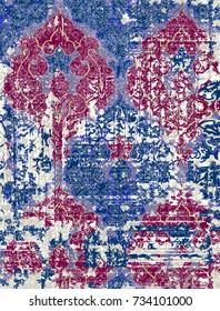 Modern rug pattern