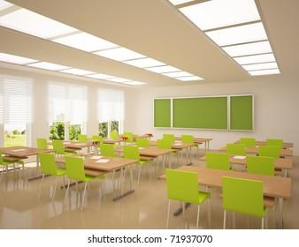 modern school apartment