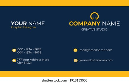 Modern and Simple Business Card