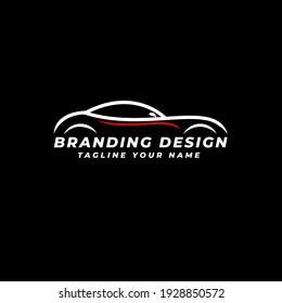 Modern Sport Car Logo Design