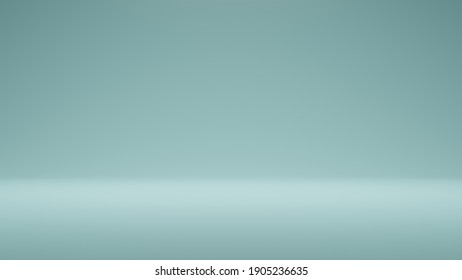 Modern Studio Background . Abstract blue coral gradient background empty space studio room for display product ad website . Blue empty room studio gradient used for background and display your product