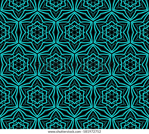 Modern stylish texture. Repeating abstract background with chaotic strokes. Trendy hipster print.Raster copy seamless pattern.