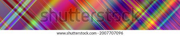 Modern technology website header colorful design