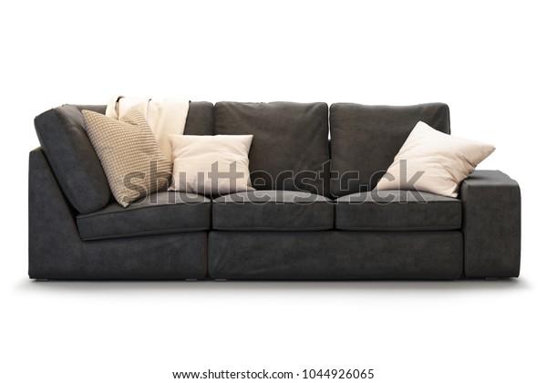 Admirable Modern Textile Ikea Kivik Sofa Gold Stock Illustration Evergreenethics Interior Chair Design Evergreenethicsorg