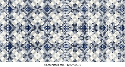 Modern and trendy ancient motifs carpet, rug, flooring seamless  pattern design. Abstract retro texture. Ornament Print. Fabric, Cloth, Scarf, Wallpaper, Wrapping. Raster illustration.
