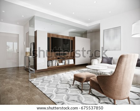 royalty free stock illustration of modern urban contemporary living