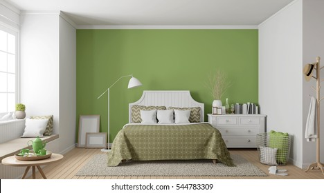 Royalty-Free Green Bedroom Stock Images, Photos & Vectors ...