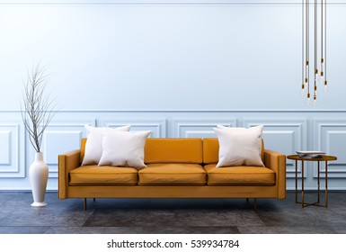 Leather Sofa Images, Stock Photos & Vectors | Shutterstock