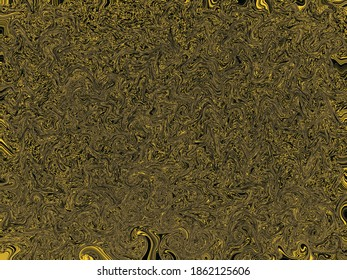 Modern yellow and black texture