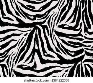 modern zebra pattern repeat design