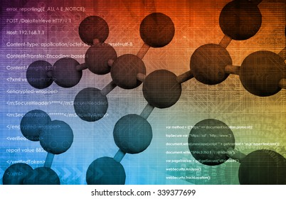 Molecular Biology and the Digital Science as a Art
