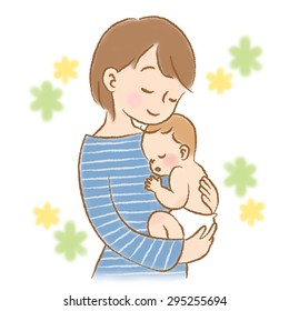 e1c6eed2e Mother Hugging Child Sketch Images, Stock Photos & Vectors ...
