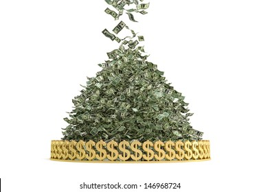 Money Rain - Pile of Cash
