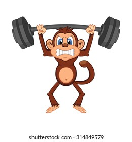 Monkey Muscle Images, Stock Photos & Vectors | Shutterstock