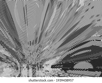 Monochrome abstract background. Black and white pattern. Halftone texture. Creative dark graphic design for poster, brochure, flyer and card. Backdrop for web, fabric and cover.