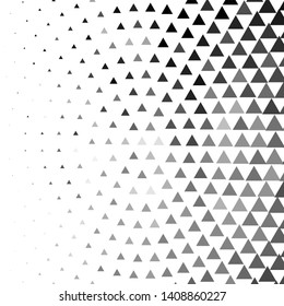 Monochrome geometric background. Abstract halftone illustration pattern. Vintage texture