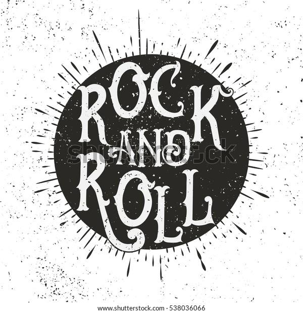 Monochrome Rock Music Print Hipster Vintage Stock Illustration 538036066,Custom Pools By Design