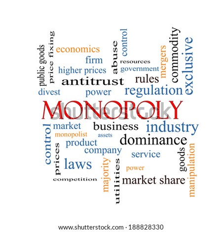 government regulated monopoly