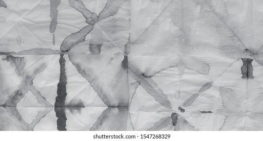Monotone Shibori. Grey Floral Textile. Platinum Paintbrush Spot. Grey Wet Motif. Pale Subtle Template. Pastel Traditional Spray. Silver Monotone Shibori.