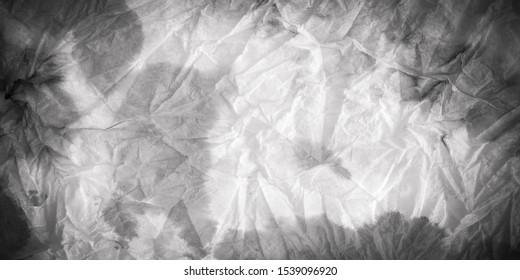 Monotone Texture. Grey Blank Composition. Silver Aquarelle Banner. Grey Boho Blotch. Pale Oriental Decoration. Pastel Handmade Batik. Platinum Monotone Texture.