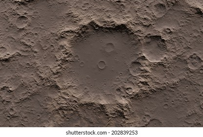 Moon surface background