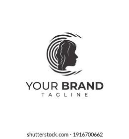 MOON WOMEN LOGO - modern company logo design