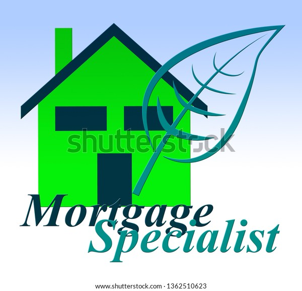 Mortgage Specialist Expert Icon Meaning Property Stock