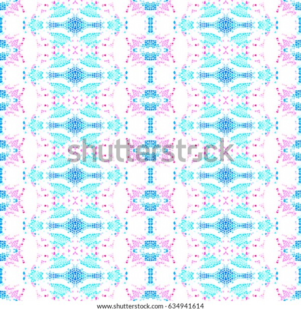 Mosaic endless colorful pattern for wallpapers, design and backgrounds