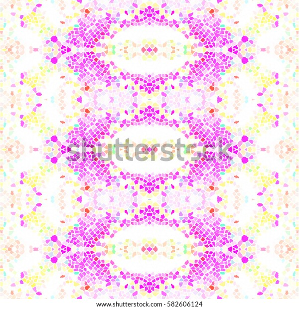 Mosaic square colorful pattern for wallpapers, ceramic tiles, design and backgrounds