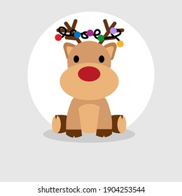 the most beautiful card with a deer
