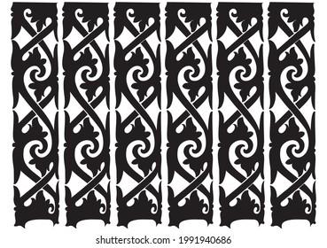 most popular pattern murut culture