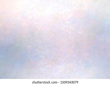 Mother of pearl iridescent textured background. Brilliance hologram wall antique surface. Abstract precious gemstone material. Lens flare effect.