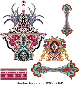 motif and colorfully and beautiful color combinations