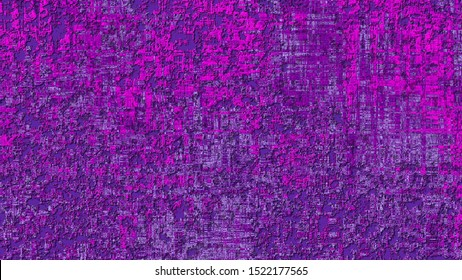 motion liquid thick paint on the wall animation, texture with convex distortion, embossed colored background, mixing colors pink and purple.