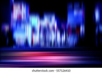 motion on night city