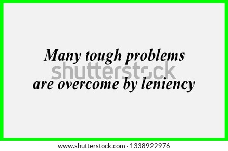 Motivational Inspirational Quotes Life Many Tough Stock Illustration