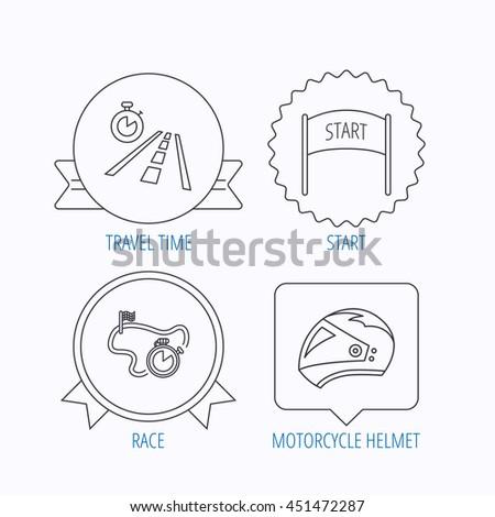 Race Helmet Diagram