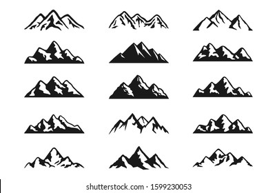 Mountain Clipart Hd Stock Images Shutterstock
