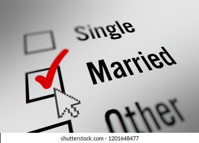 Marital Status Images Stock Photos Vectors Shutterstock