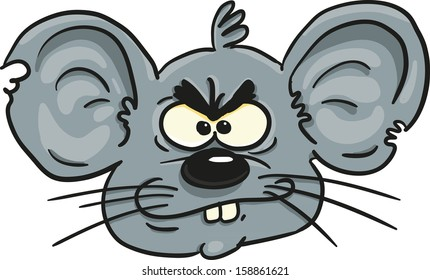 mouse head cartoon