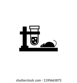 mouse, testing icon. Element of genetics and bioengineering icon. Premium quality graphic design icon. Signs and symbols collection icon for websites, web design, mobile app