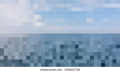 Mozaic Abstract Color Pallete Background