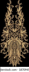 Mughal Art work.indische traditionelle antike Goldgrenze